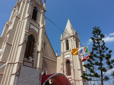 Catholic church. It was a big day - the feast of St Sebastian. Big party!