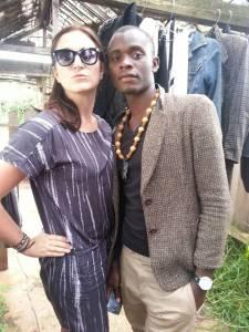 Samita and myself in Kericho August 2014