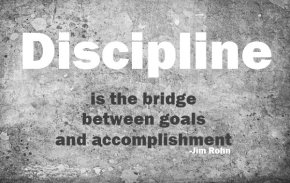 Theme of the week:Discipline